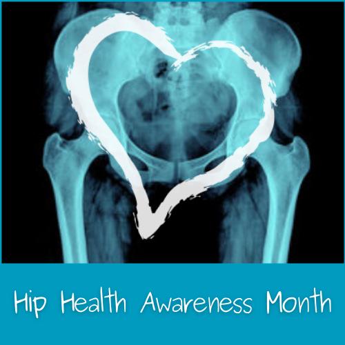 Hip Health Awareness Month logo