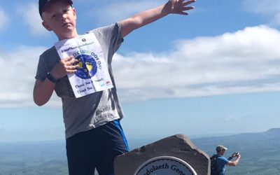 Elis inspired to climb Pen y Fan for his brother Harri – clubfoot/talipes