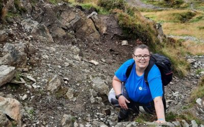 Elizabeth's walking challenges for son Paul